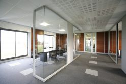 Mur transparent